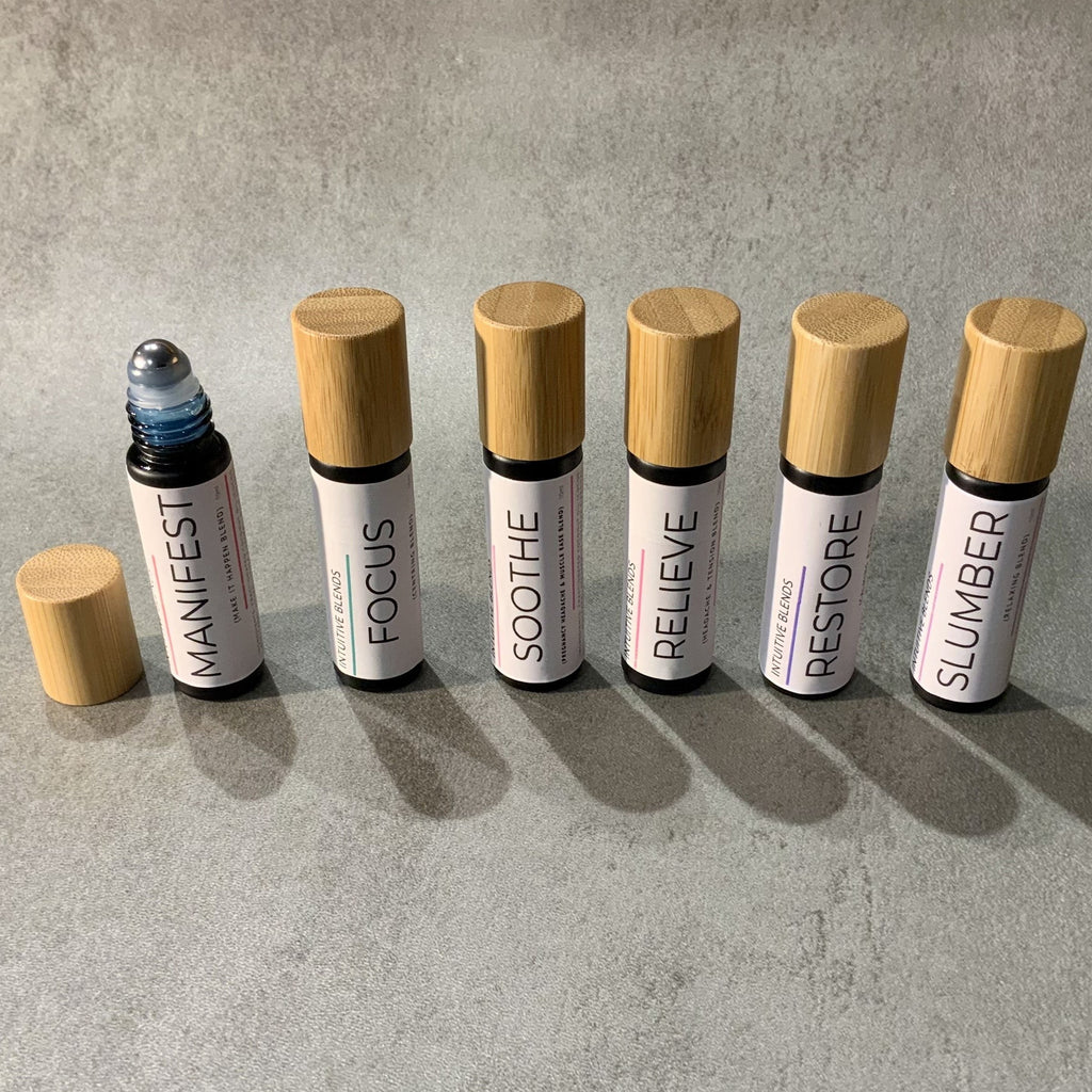 Essential Oils Rollers- from Intuitive Blends