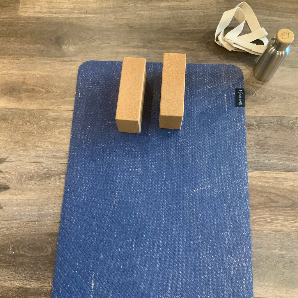 Natural Rubber and Jute Yoga Mat