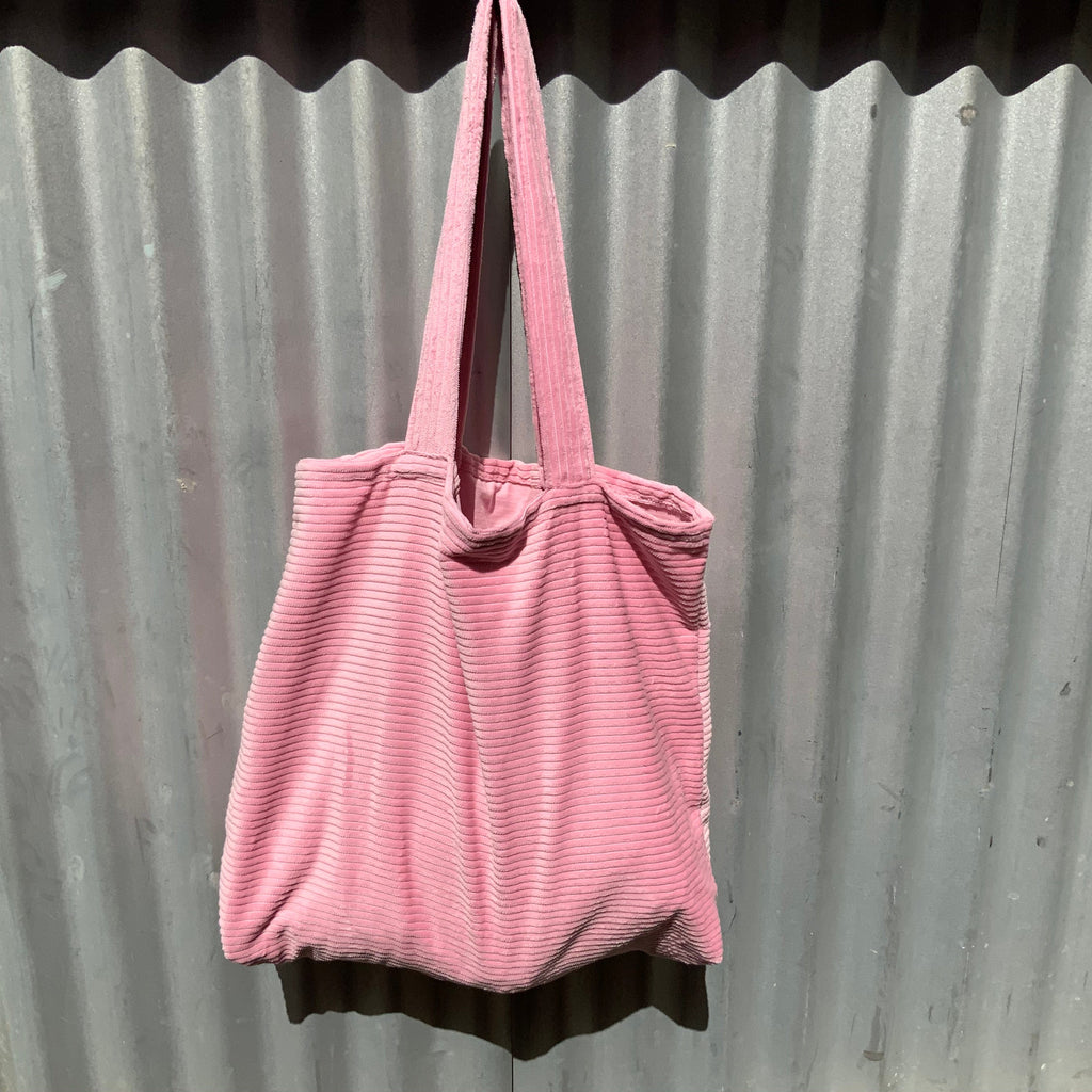 Pink Jumbo Large Cord Tote from Asiki, Erskineville, Sydney, Australia