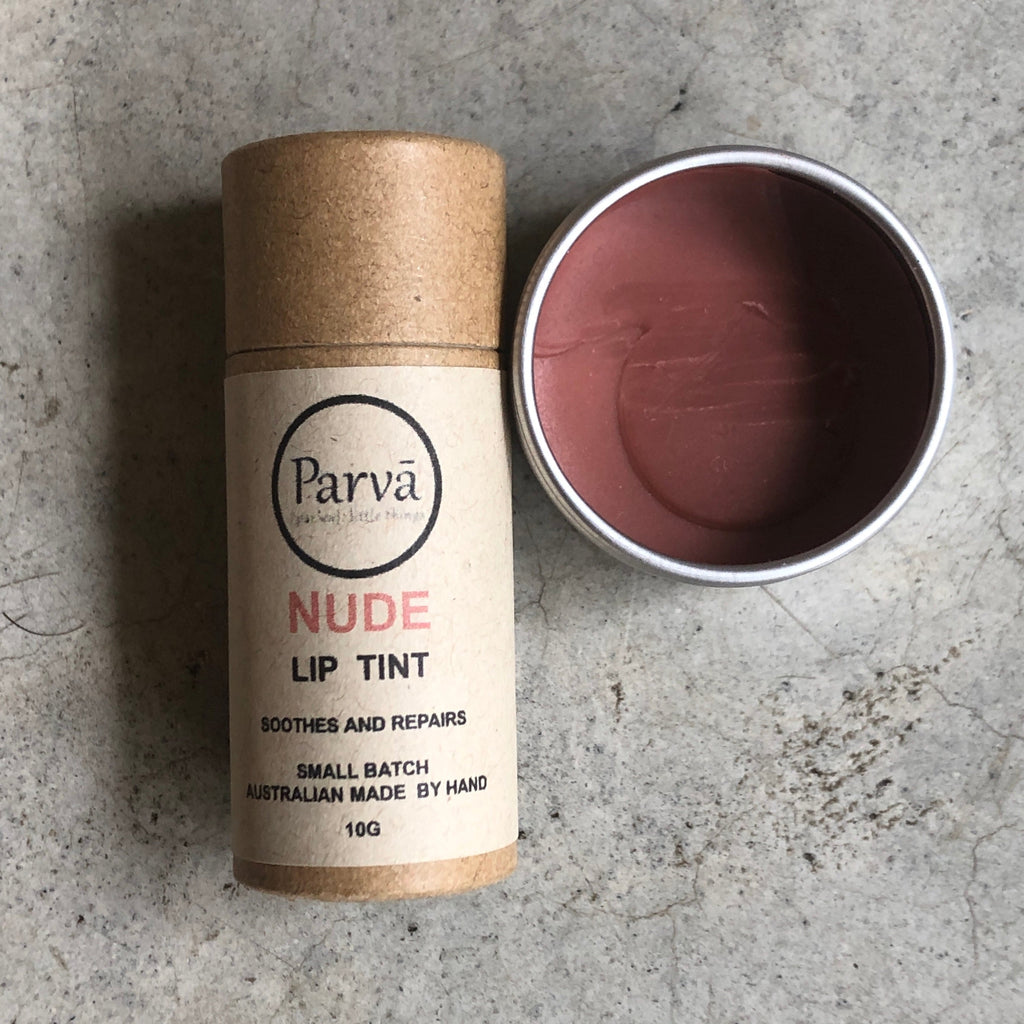 Parva tinted lip balm from The Ekologi Store, Sydney, Australia