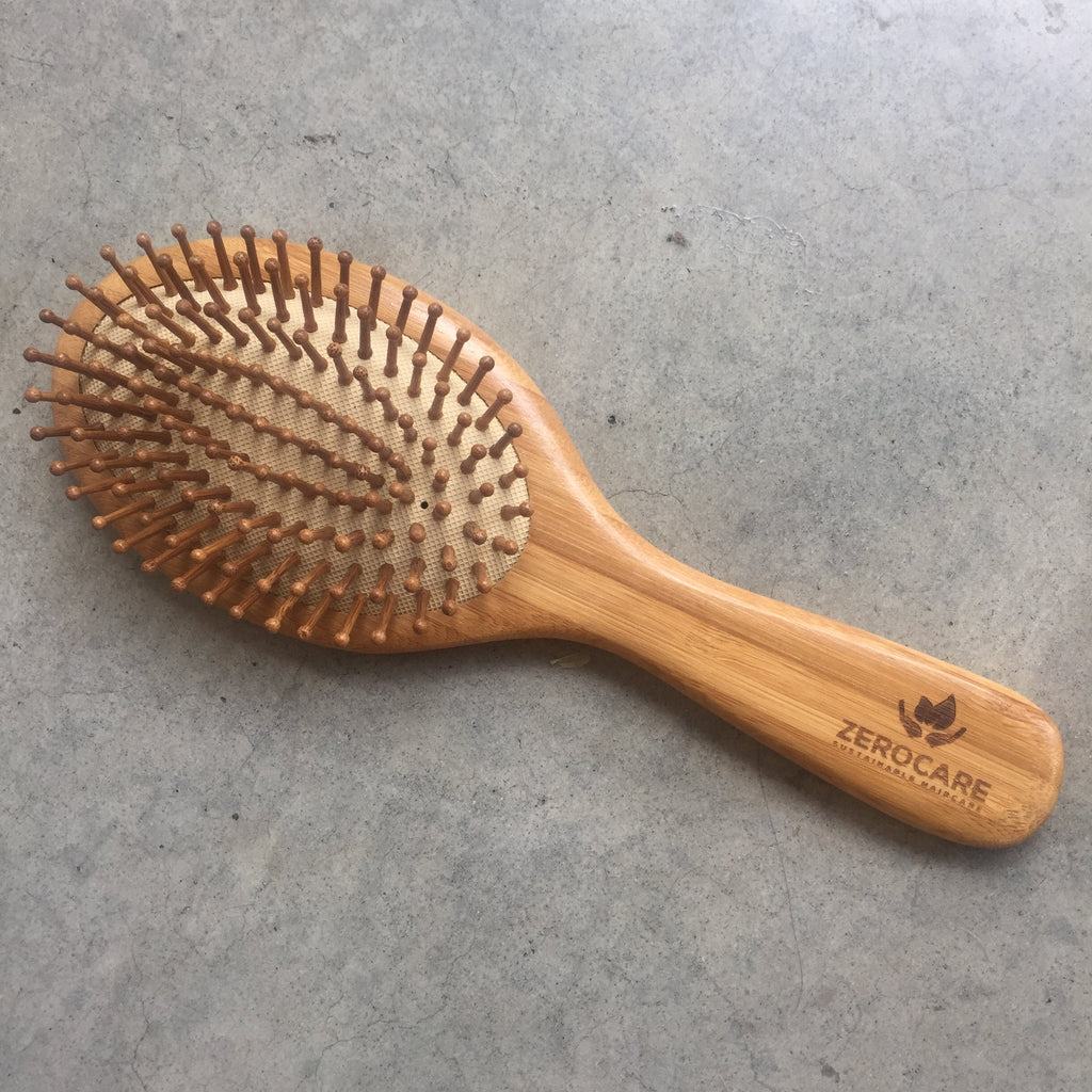 Zerocare Wooden Hair Brush from The Ekologi Store, Sydney, Australia