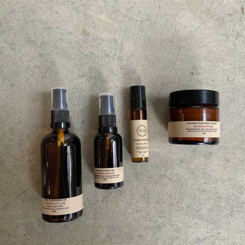 Parva natural skincare from The Ekologi Store, Sydney, Australia
