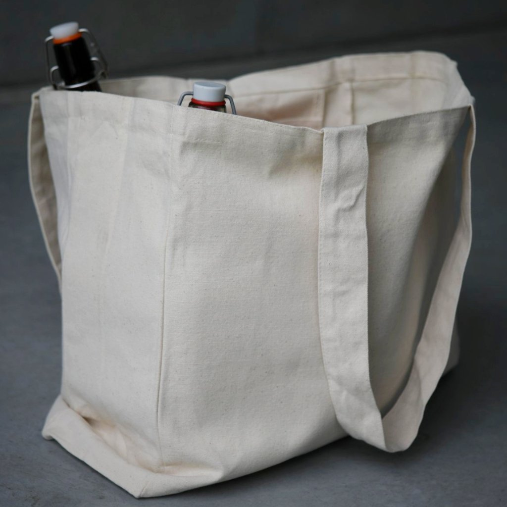 Reusable cotton Grocery and Shopping Bag by The Ekologi Store in Australia.