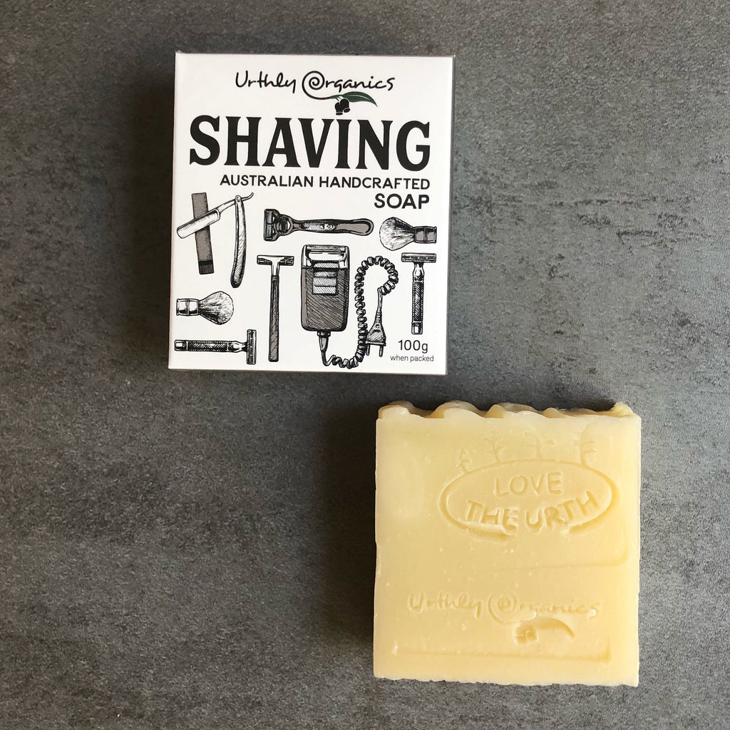 Shaving Soap Bar from Asiki, Erskineville, Sydney, Australia