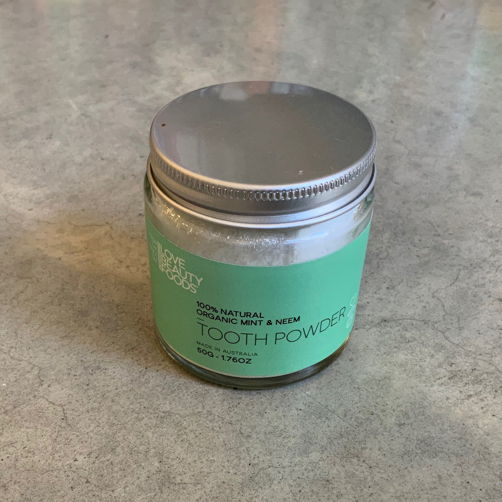 Plastic Free Tooth Powder