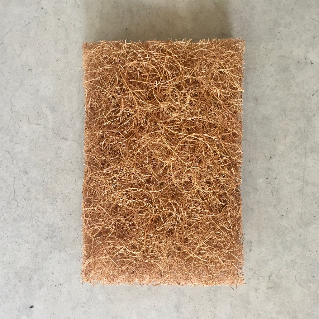 Natural coconut fibre Safix Cleaning Scourer Pad from The Ekologi Store.