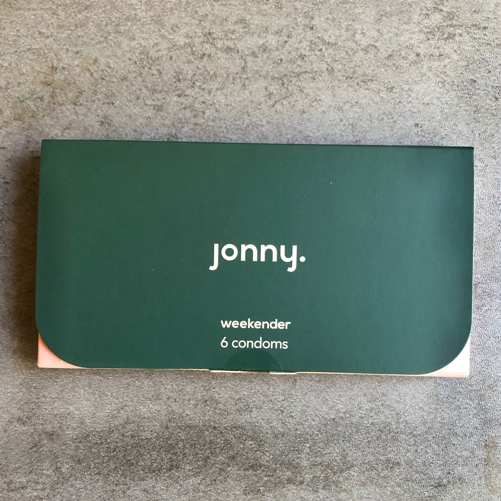 Jonny. eco-friendly overnighter condoms pack of 3.
