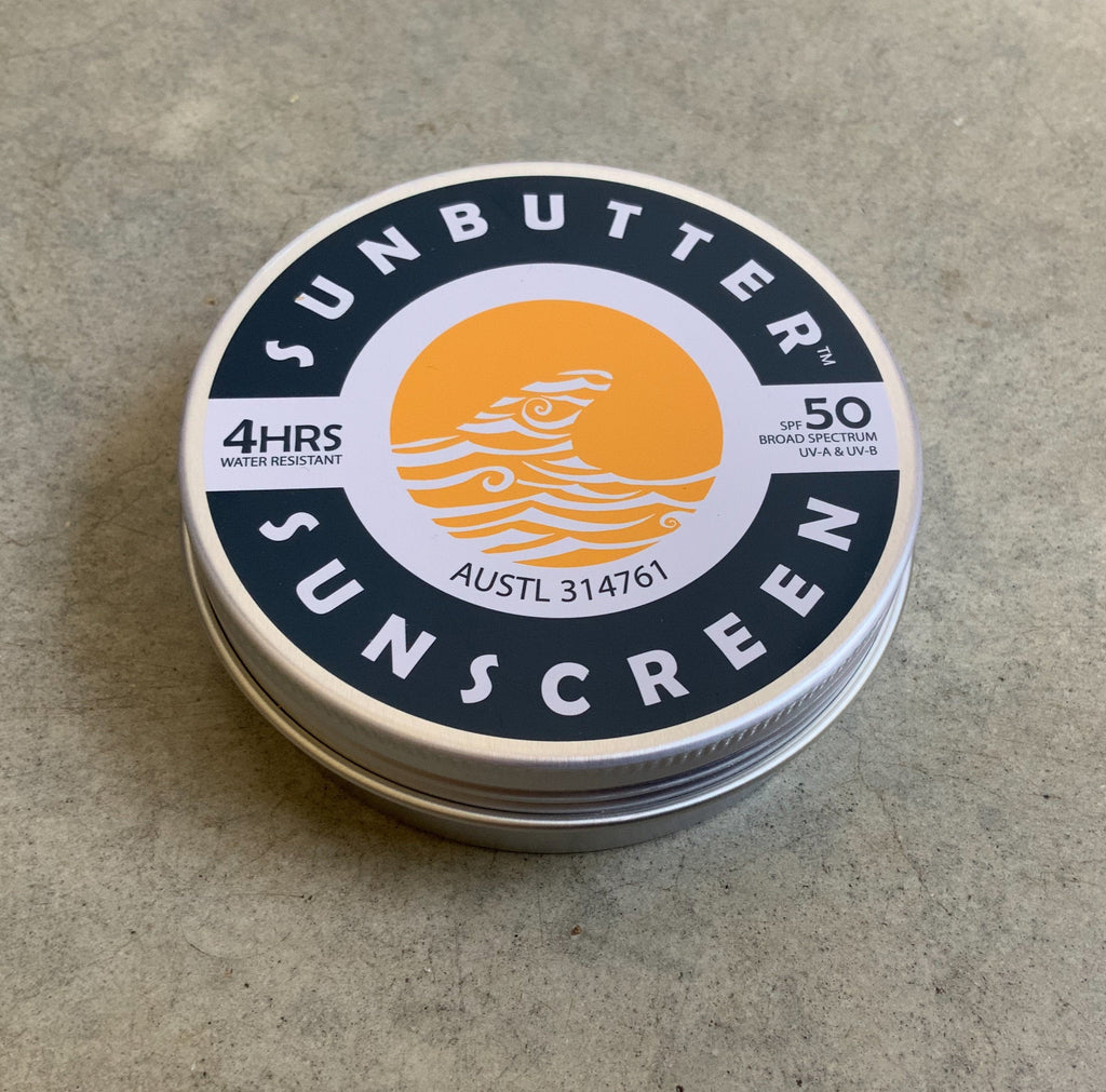 Plastic free Sunbutter sunscreen from The Ekologi Store, Sydney, Australia