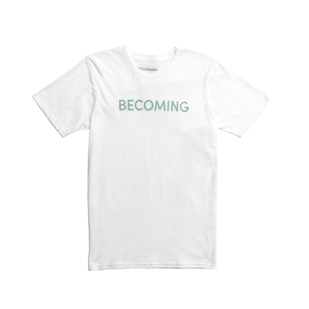 c413e8f7c19 Becoming Logo T-Shirt – Michelle Obama Official Store