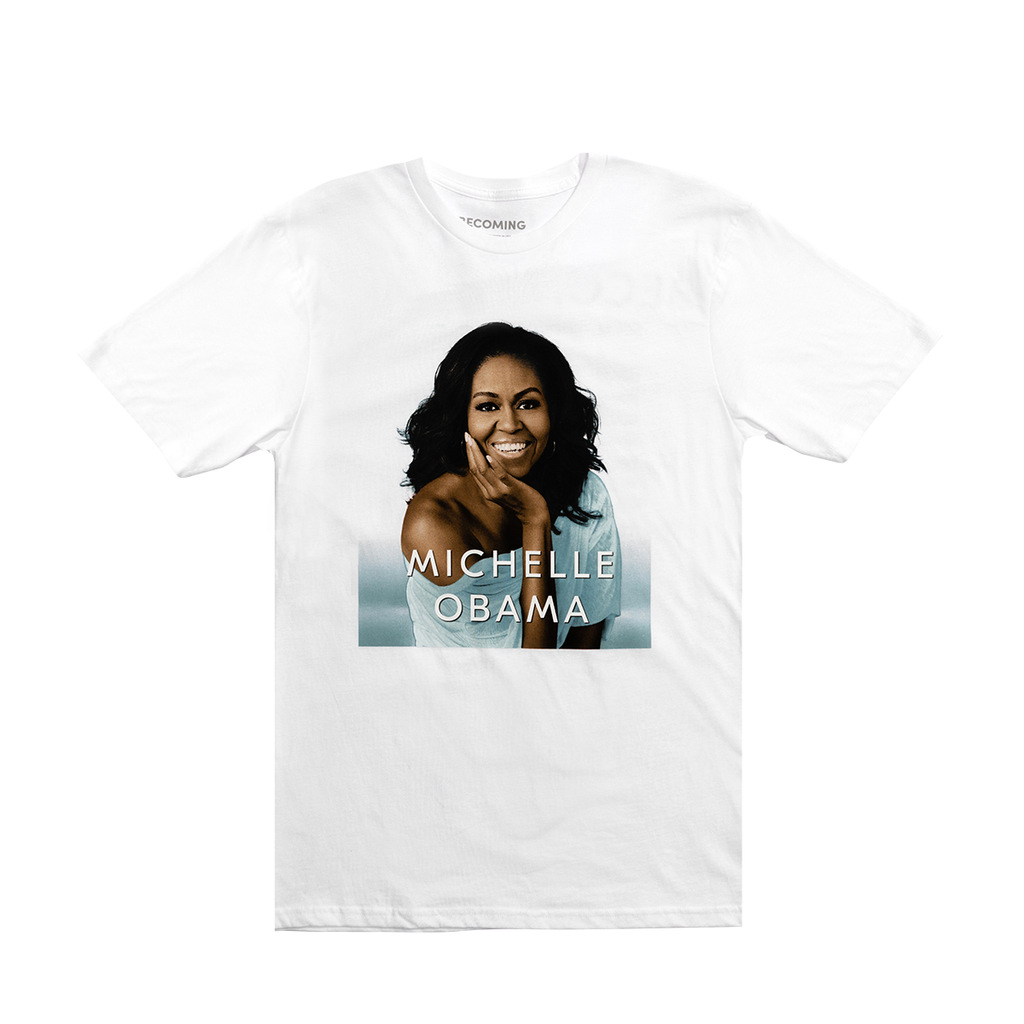 f1488710 BECOMING Book Cover T-shirt – Michelle Obama Official Store