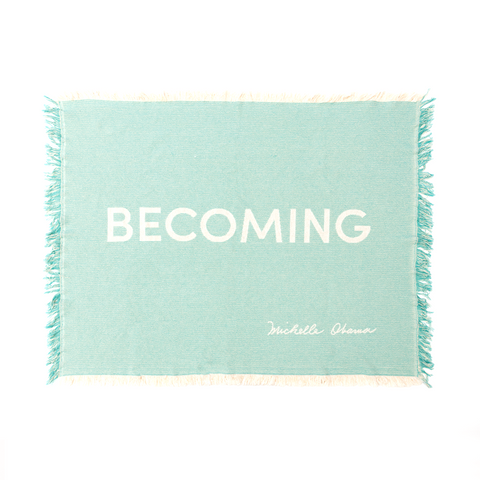 Becoming Woven Blanket
