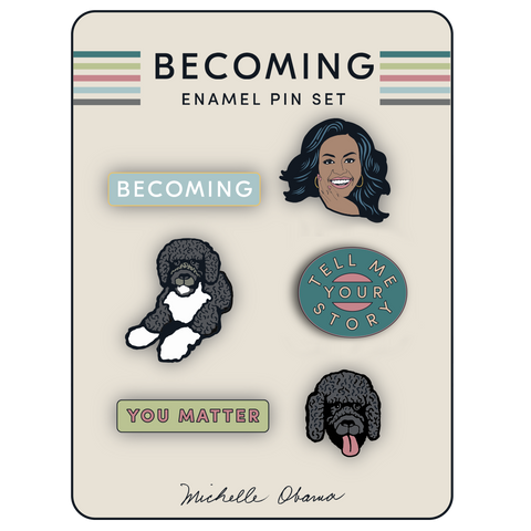Enamel Pin Set