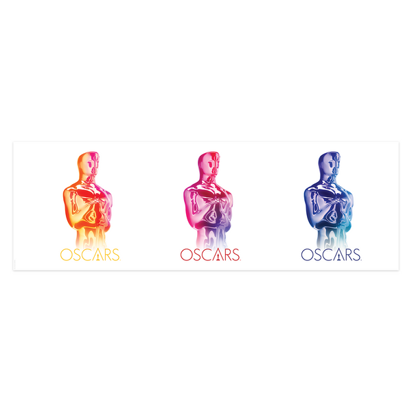 GRADIENT OSCARS PANORAMIC POSTER