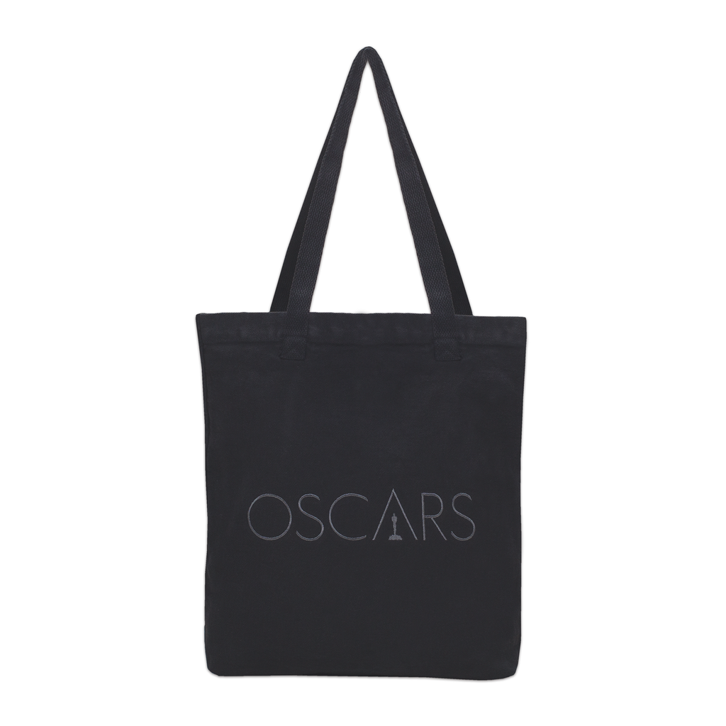 Oscars Embroidered Canvas Tote Bag