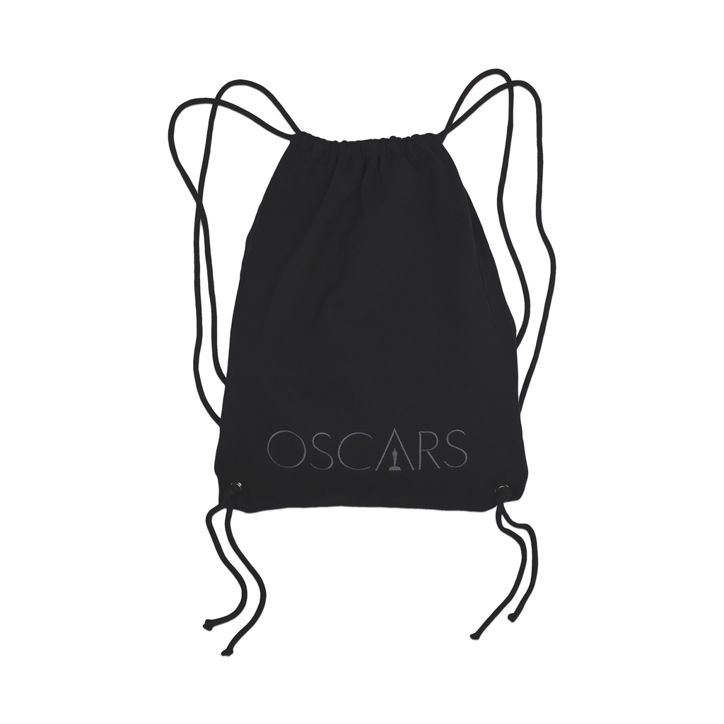 Oscars Embroidered Drawstring Backpack