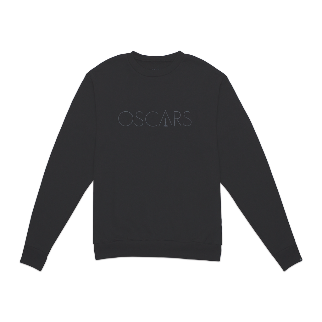 Oscars Embroidered Crewneck Sweatshirt