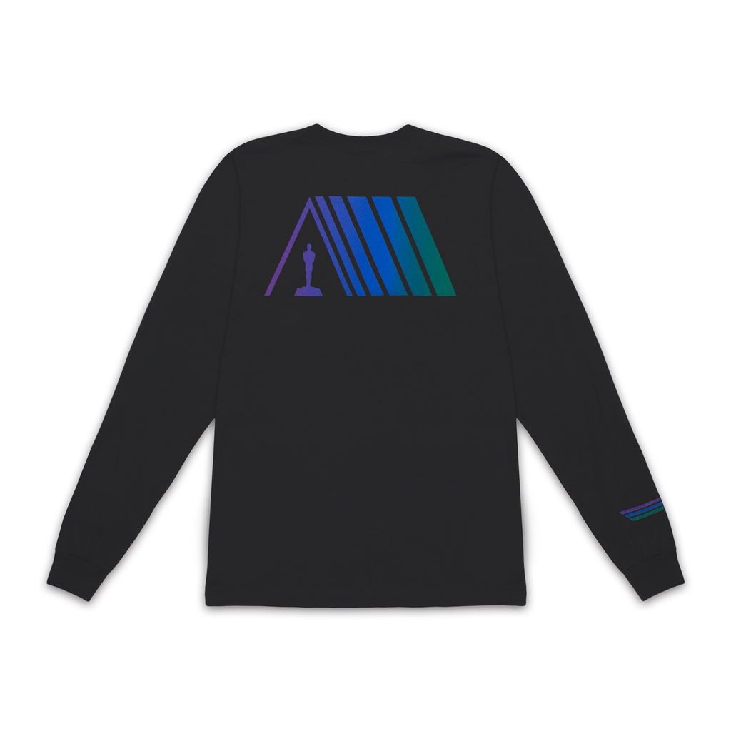 Gradient Logo Long Sleeve Tee