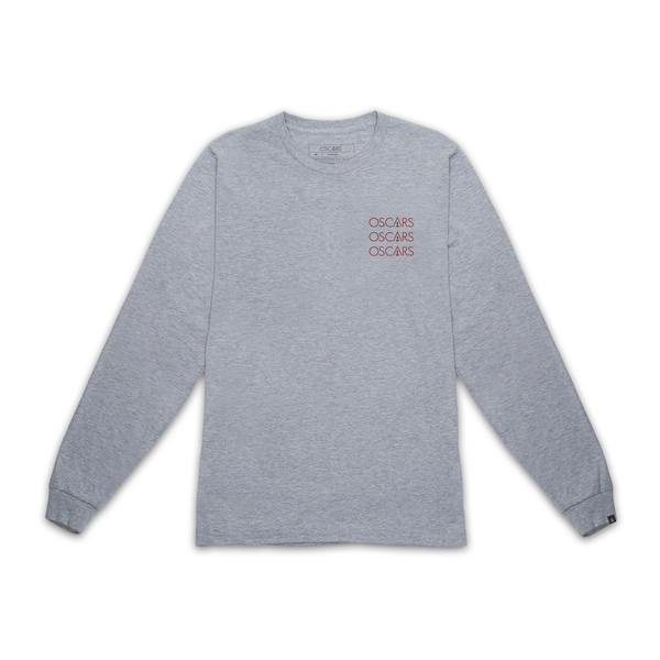 STACKED OSCARS LONG SLEEVE TEE