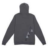 Stacked Triangle Zip Hoodie