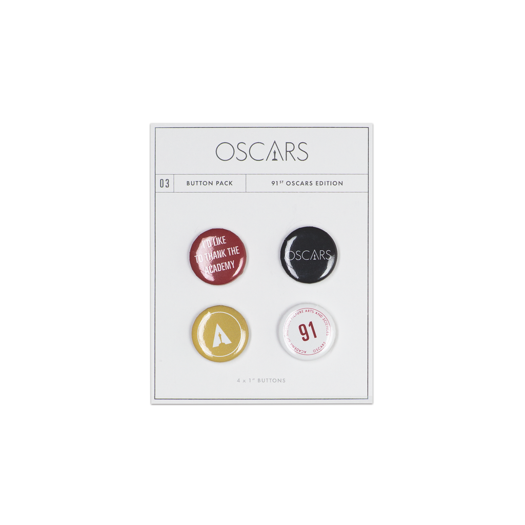 Button Pack 03 - 91st Oscars Edition