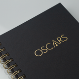 Oscars Medium Spiral Hardcover Notebook