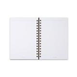 Academy Medium Spiral Hardcover Notebook