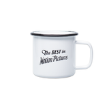 Best In Motion Pictures Enamel Mug