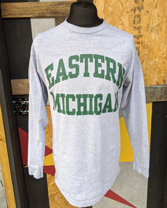 Retro Eastern Michigan long sleeve t-shirt M