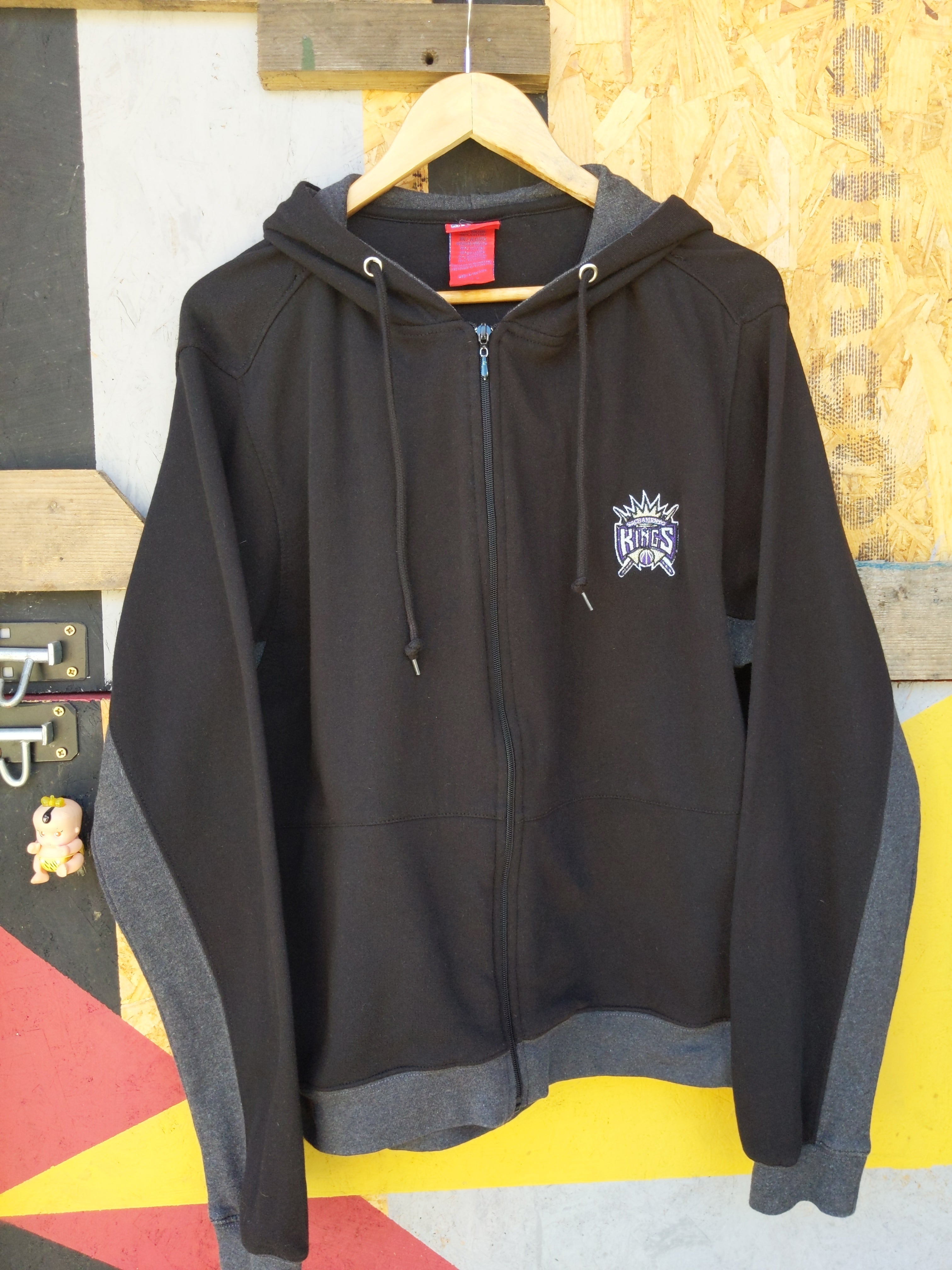 Retro  NBA Kings hoodie L