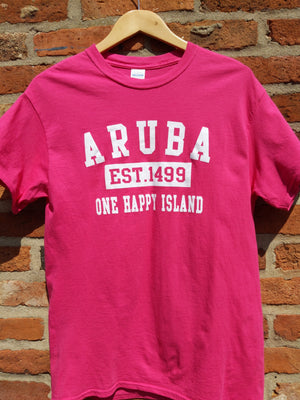 Retro Aruba t-shirt M