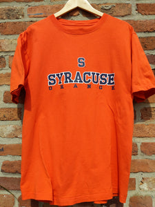Retro US Syracuse orange basketball t-shirt  L