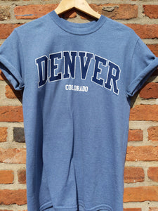 Retro US Denver Colorado t-shirt S