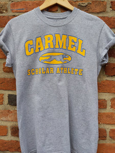 Retro US Carmel scholar athlete t-shirt S