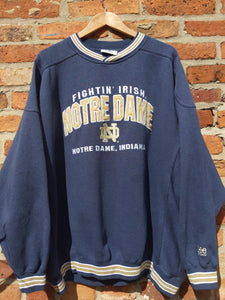 Retro LEE Notre Dame fightin Irish sweatshirt XXL