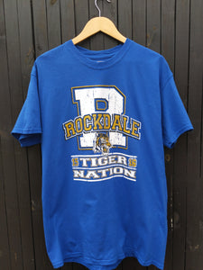 Rockdale tiger nation  t-shirt L