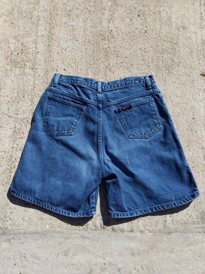 Vintage 80s Sasson denim shorts 30""