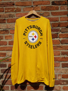 Retro Nike Pittsburgh Steelers long sleeve t-shirt XL