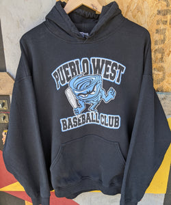 Retro US Pueblo West Baseball Club hoody XL