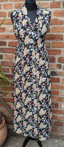 Retro 90s floral dress approx size 12/14