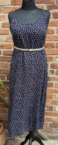 Retro 90s floral sundress approx size 14/16