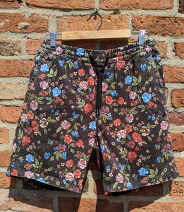 Floral UO board shorts waist 30-36""