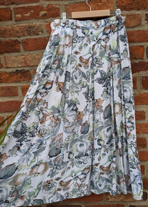 Pales floral 90s skirt waist 32-34""