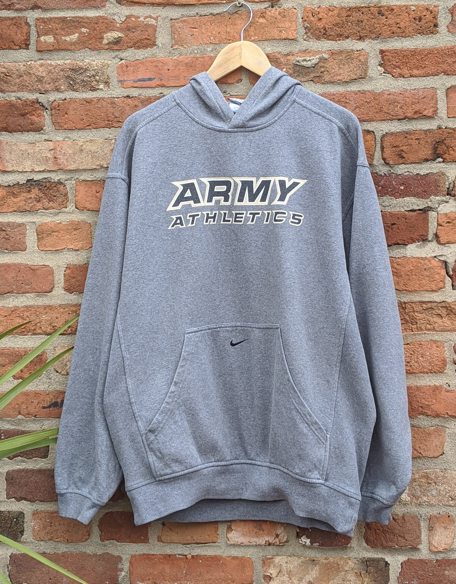 Retro Army athletics hoodie M