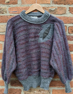 Mohair blend batwing knit size 10/12