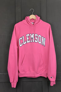 So cool Pink Champion Clemson sweatshirt M