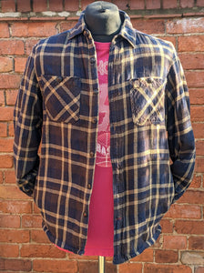 Coleman Sherpa  fleece lined checked flannel shirt S item794