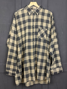 Checked flannel shirt XXL Item873