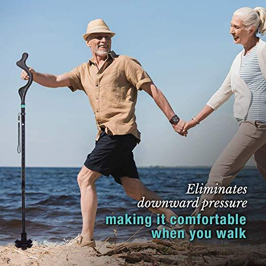 The Revolutionary Collapsible Posture Walking Cane