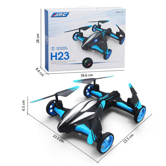 Flipping RC Quadrocopter Drone