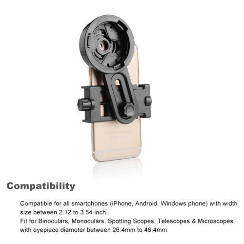 Spotting Scope & Binocular Smart Phone Adapter